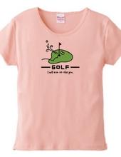 ゴルフ グリーンから吐息