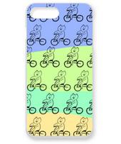 自転車ねこ(カラフル)