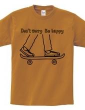 スケートボードとスニーカー