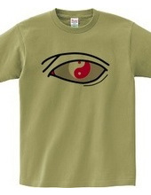 太極図Tシャツ-瞳-