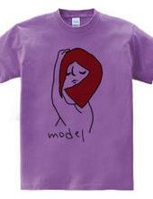 赤毛のモデル