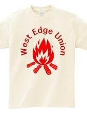 WEU焚火Tシャツ