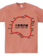 大阪環状線 路線図